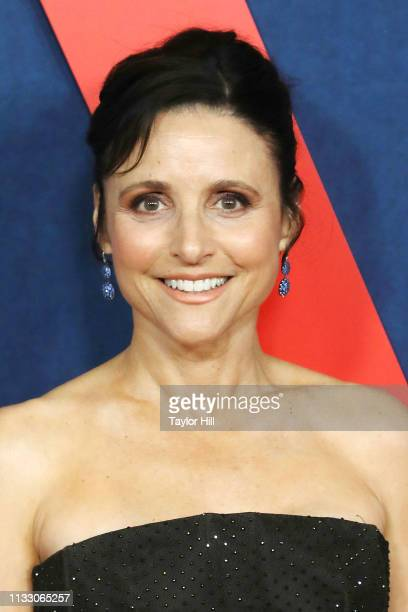 Julia LouisDreyfus attends the premiere of the final season of Veep at Alice Tully Hall Lincoln Center on March 26 2019 in New York City