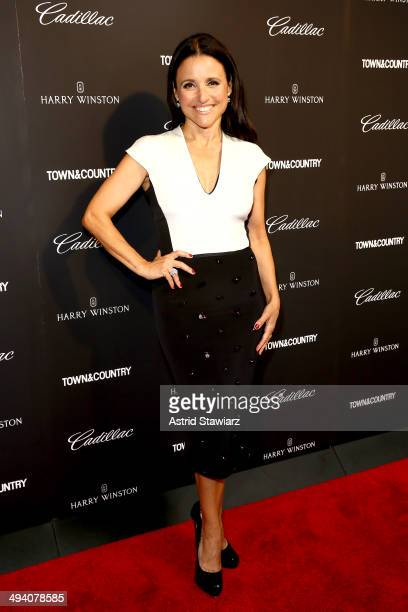 Julia LouisDreyfus attends the TC Philanthropy Summit with screening of Generosity Of Eye at Lincoln Center with Town Country on May 28 2014 in New...