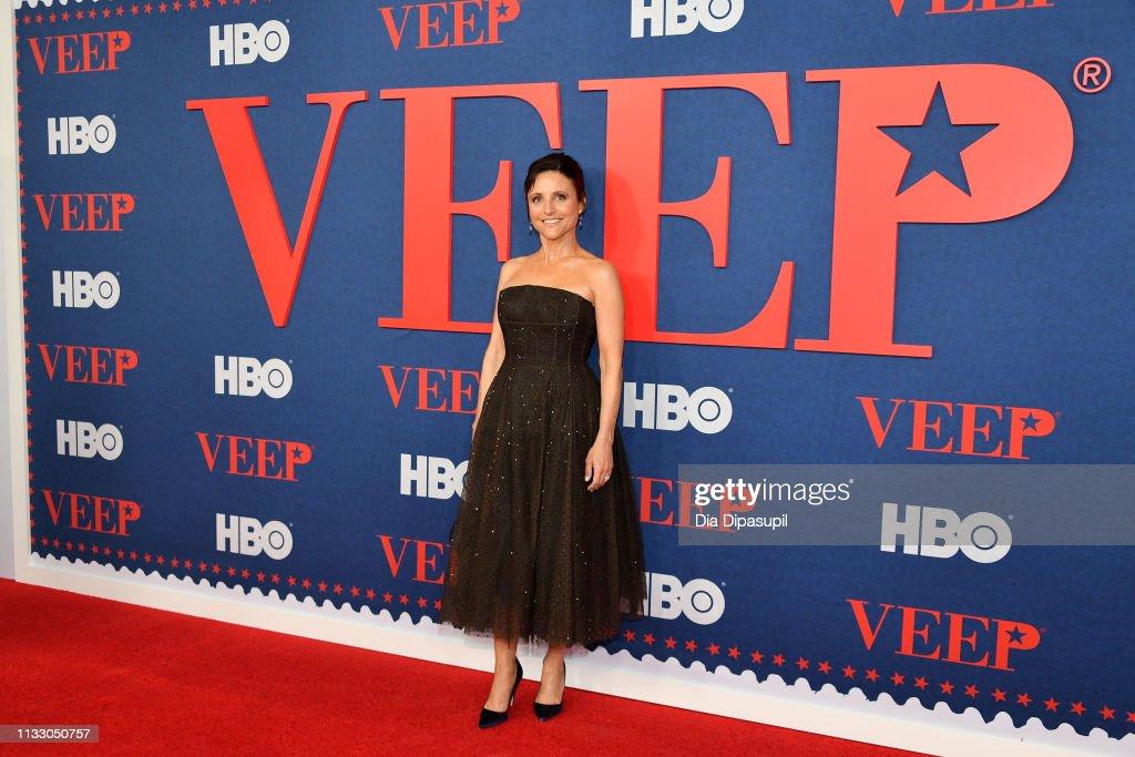 """Veep"" Season 7 Premiere : News Photo"