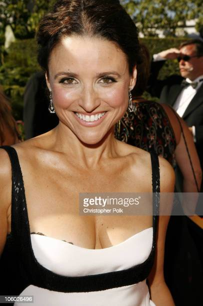 Julia LouisDreyfus during 58th Annual Primetime Emmy Awards Red Carpet at The Shrine Auditorium in Los Angeles California United States