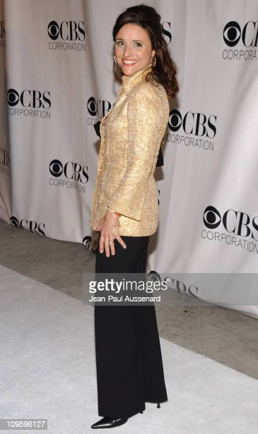 Julia Louis-Dreyfus during CBS/Paramount/UPN/Showtime/King World 2006 TCA Winter Press Tour Party - Arrivals at The Wind Tunnel in Pasadena,...