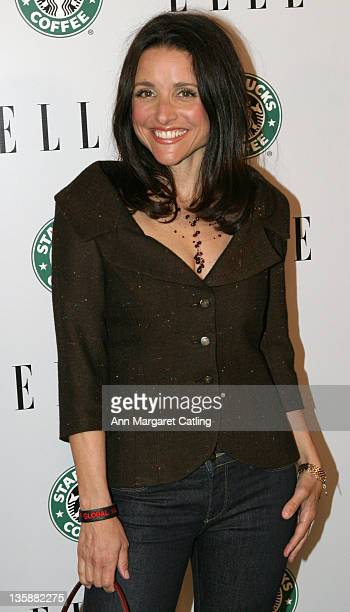 Julia Louis-Dreyfus during ELLE 1st Green Issue Launch Party - Arrivals at Pacific Design Center in West Hollywood, California, United States.