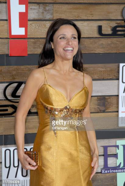 Julia LouisDreyfus during EMA E Golden Green Party at 9900 Wilshire Blvd in Beverly Hills California United States