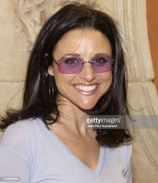 Julia LouisDreyfus during Frederic Fekkai Oscar Beauty and Fashion Suite Day 4 at Frederic Fekkai in Beverly Hills California United States