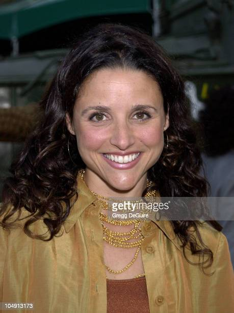 Julia LouisDreyfus during HBO Networks Band Of Brothers Hollywood Premiere at The Hollywood Bowl in Hollywood California United States