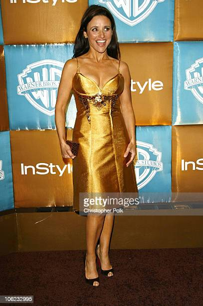 Julia LouisDreyfus during In Style Warner Bros Studios Host 8th Annual Golden Globe Party Arrivals at Oasis Court Beverly Hilton Hotel in Beverly...