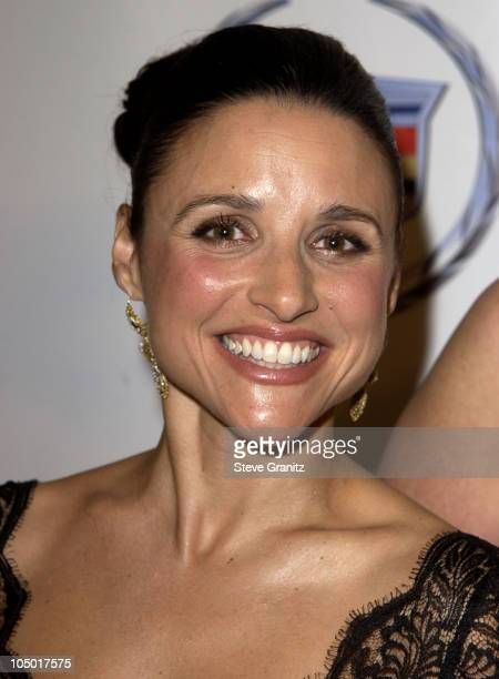 Julia LouisDreyfus during The 15th Carousel Of Hope Ball VIP Reception at Beverly Hilton Hotel in Beverly Hills California United States