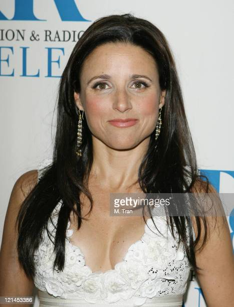 Julia LouisDreyfus during The Museum of Television Radio Presents New Adventures of Old Christine Arrivals at Museum of Television Radio in Beverly...