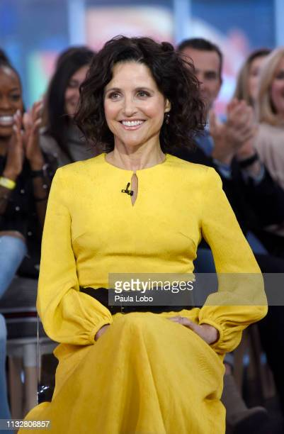 "Julia Louis-Dreyfus is a guest on ""Good Morning America,"" Monday, March 25 airing on the Walt Disney Television via Getty Images Television Network...."