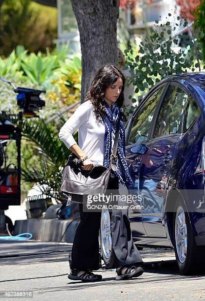 Julia LouisDreyfus is seen on August 06 2012 in Los Angeles California