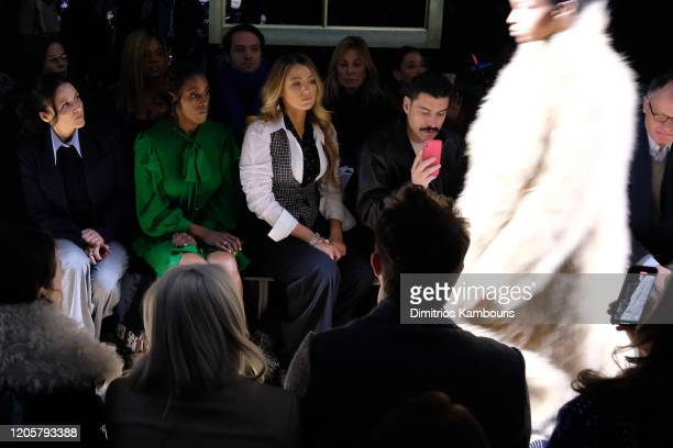 Julia LouisDreyfus Issa Rae and Blake Lively attend the Michael Kors FW20 Runway Show on February 12 2020 in New York City
