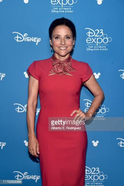 Julia Louis-Dreyfus of 'Onward' took part today in the Walt Disney Studios presentation at Disney's D23 EXPO 2019 in Anaheim, Calif. 'Onward' will be...