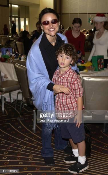 Julia LouisDreyfus son Charles during American Ballet Theatre's The Nutcracker Family Day Benefit at Kodak Center's Grand Ballroom in Hollywood...