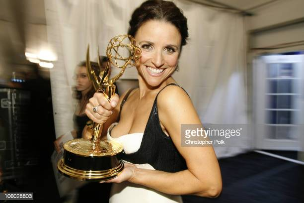 "Julia Louis-Dreyfus, winner Outstanding Lead Actress in a Comedy Series for ""The New Adventures of Old Christine"""