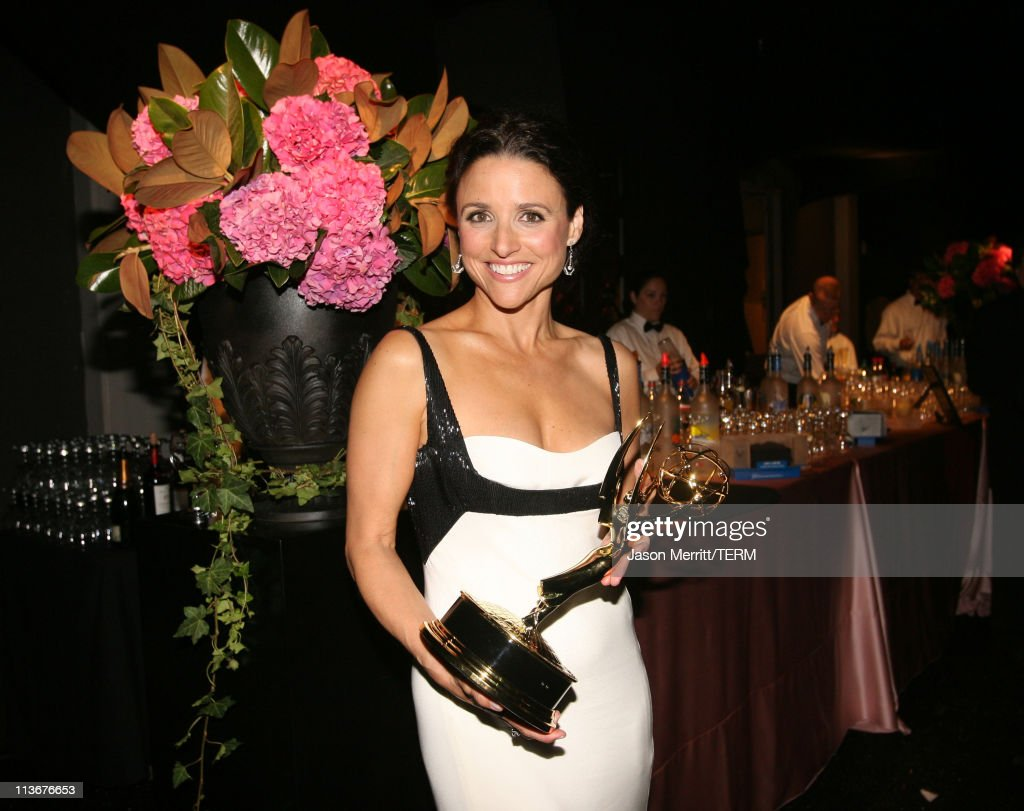 """Julia Louis-Dreyfus, winner Outstanding Lead Actress in a Comedy Series for """"The New Adventures of Old Christine"""""""