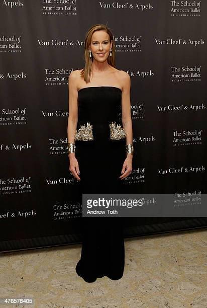 Julia M Flesher Koch attends the School of American Ballet 2014 Winter Ball at David Koch Theatre at Lincoln Center on March 3 2014 in New York City