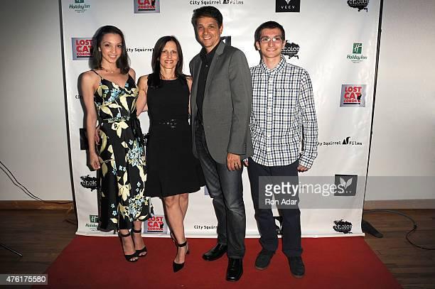 Julia Macchio Phyllis Fierro Actor Ralph Macchio and Daniel Macchio attend the Lost Cat Corona wrap party at Highlight Studios on June 6 2015 in New...