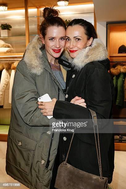 Julia Malik and Anita Tillmann attend the Woolrich Store Opening on November 25 2015 in Berlin Germany
