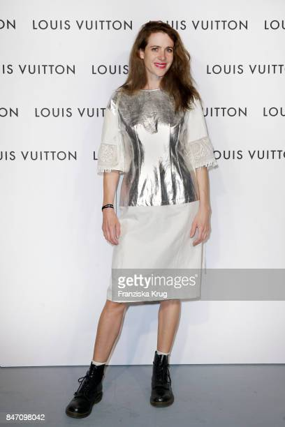 Julia Malik attends the 'Louis Vuitton Time Capsule' Exhibition Opening at Franzoesisches Palais on September 14 2017 in Berlin Germany