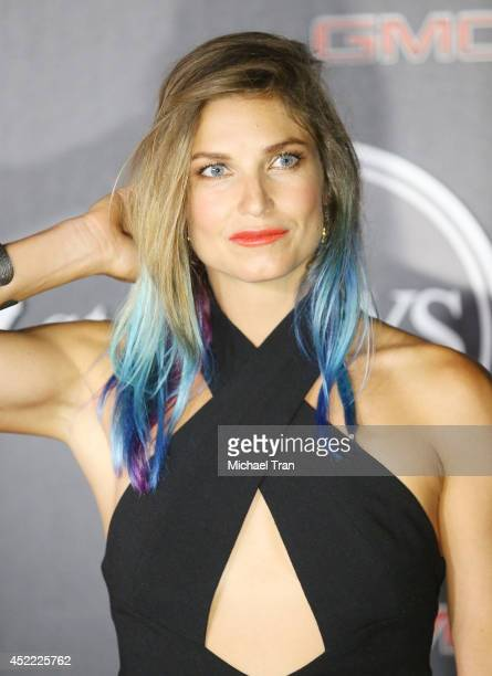 Julia Mancuso arrives at the BODY at ESPYS PreParty held at Lure on July 15 2014 in Hollywood California