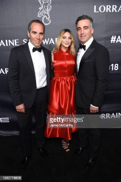 Julia Michaels and Honorees Avery Lipman and Monte Lipman attend the 2018 Angel Ball hosted by Gabrielle's Angel Foundation at Cipriani Wall Street...