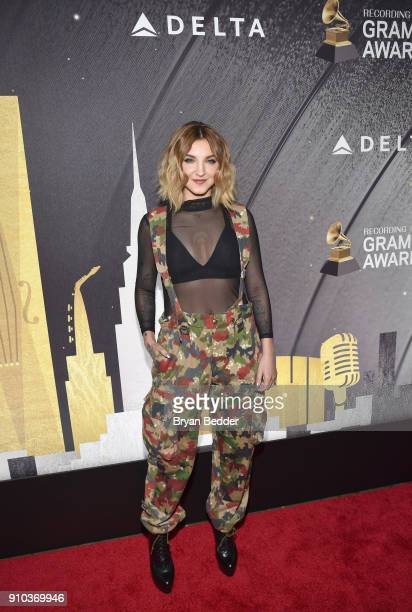 Julia Michaels attends Delta Air Lines the Official Airline Partner of the GRAMMY Awards® and Supporter of FirstTime Nominees hosted a private...