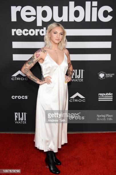 Julia Michaels attends Republic Records Grammy after party at Spring Place Beverly Hills on February 10 2019 in Beverly Hills California
