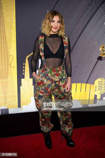 Julia Michaels attends the 2018 Delta Air Lines Grammy weekend celebration at The Bowery Hotel on January 25 2018 in New York City