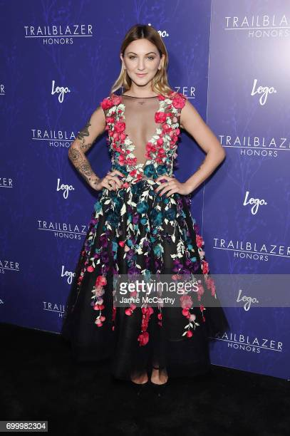 Julia Michaels attends the Logo's 2017 Trailblazer Honors event at Cathedral of St John the Divine on June 22 2017 in New York City