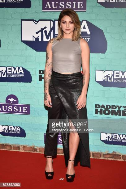Julia Michaels attends the MTV EMAs 2017 at The SSE Arena Wembley on November 12 2017 in London England