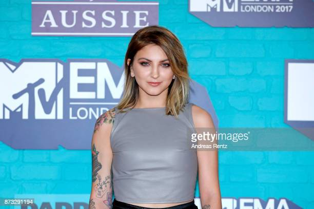 Julia Michaels attends the MTV EMAs 2017 held at The SSE Arena Wembley on November 12 2017 in London England