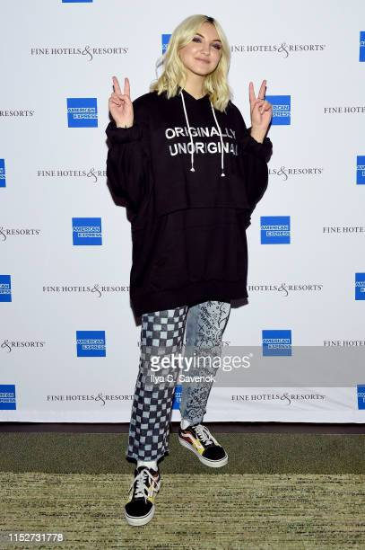 Julia Michaels joins American Express Travel to celebrate its enhanced Fine Hotels Resorts 5X Membership Rewards® benefit for American Express...