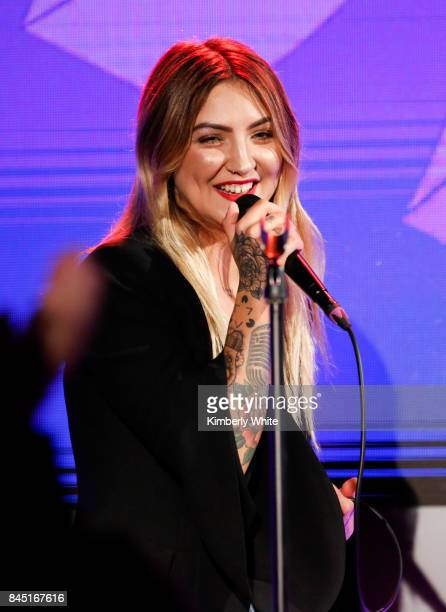 Julia Michaels performs at the 2017 GLAAD Gala at City View at Metreon on September 9 2017 in San Francisco California