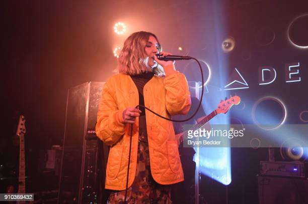 Julia Michaels performs onstage during Delta Air Lines the Official Airline Partner of the GRAMMY Awards® and Supporter of FirstTime Nominees hosted...