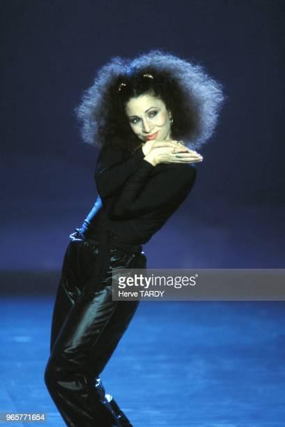 Julia Migenes Johnson a l'emission televisee 'Le Grand Echiquier' sur Antenne 2 le 19 mars 1984 a Paris France