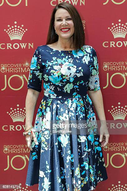 Julia Morris attends Ann Peacock's Women in Media Christmas Luncheon at The Atlantic at Crown Casino on December 7 2016 in Melbourne Australia