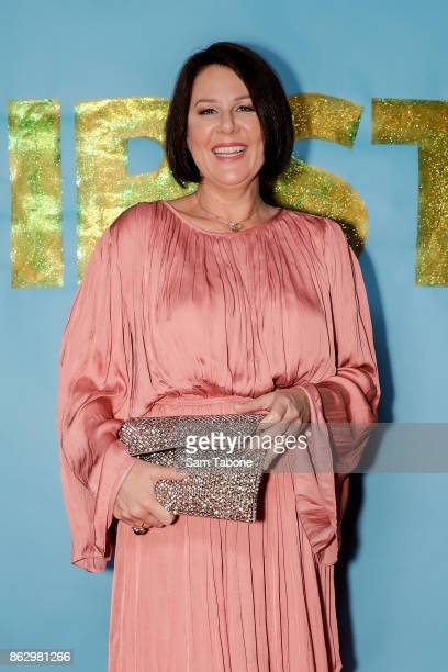 Julia Morris during the launch of Joel Creasey's memoir 'THIRSTY Confessions of a Fame Whore' on October 19 2017 in Melbourne Australia