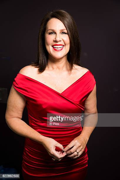 Julia Morris poses during the Channel Nine Up fronts at The Star on November 8 2016 in Sydney Australia