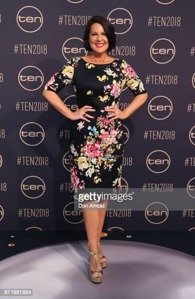 Julia Morris poses during the Network Ten 2018 Upfronts on November 9 2017 in Sydney Australia