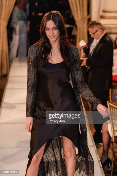 Julia Moshy attends Andrew Warren of Just Drew NYC Presents Special Collection at City of Hope Luncheon at The Plaza Hotel on May 8 2017 in New York...