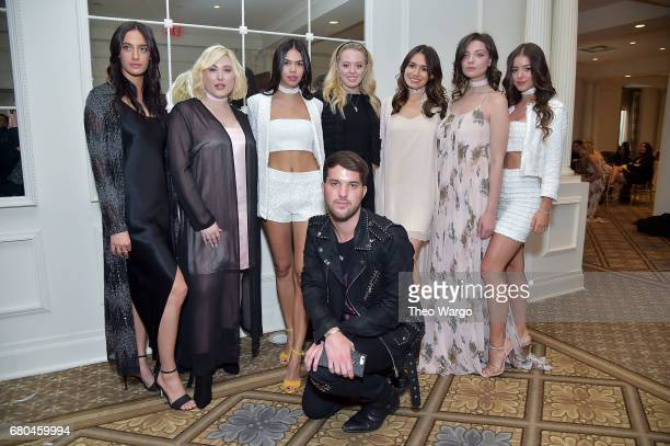 Julia Moshy Hayley Hasselhoo Alessandra Garcia Lorido Andrew Warren Tiffany Trump Sophie Simmons Sadie Friedman and Nora Gjeili attend the 2017...