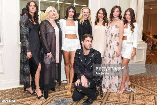 Julia Moshy Hayley Hasselhoo Alessandra Garcia Lorido Andrew Warren Tiffany Trump Sophie Simmons Sadie Friedman and Nora Gjeili attend Andrew Warren...