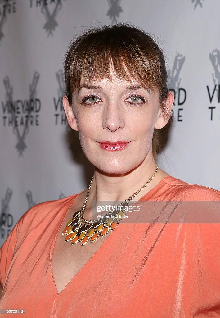 Julia Murney attends the opening night After Party for 'The Landing' at Vineyard Theatre on October 23, 2013 in New York City.