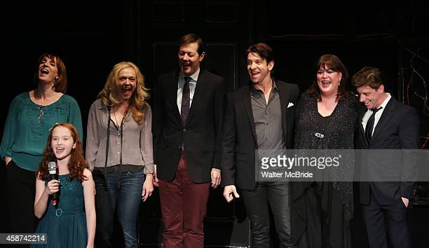 Julia Murney Taylor Richardson Rachel Bay Jones John Bolton Andy Karl Ann Hampton Callaway and Christian Borle performing in 'Best in Shows' A...