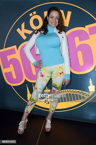 Julia Neumann aka Jessica Holly Bremer poses during the