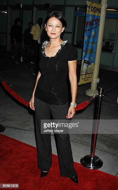 Julia Nickson arrives at the Los Angeles Premiere of Towelhead at the Arclight Cinemas on September 3 2008 in Hollywood California