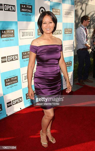 Julia Nickson arrives to the Los Angeles Film Festival Awards Night in Westwood California on June 29 2008