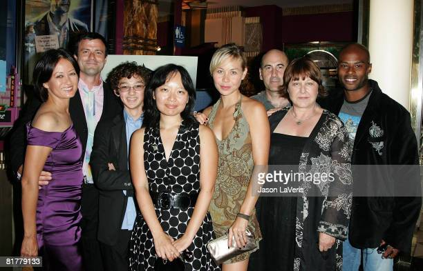 Julia Nickson Ben Redgrave Alexander Agate Jennifer Phang Sanoe Lake James Eckhouse Susan Ruttan and Lee Marks attend the 2008 Los Angeles Film...