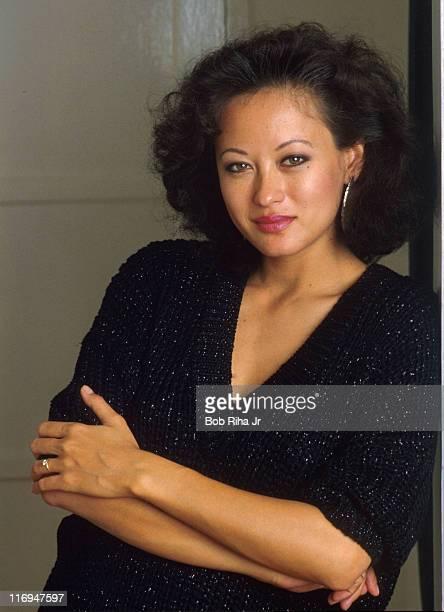 Julia Nickson during Julia Nickson 1986 Portrait Session by Bob Riha in Encino California United States