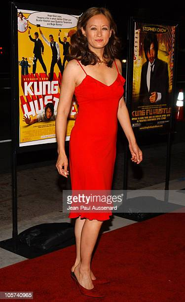 Julia Nickson during Kung Fu Hustle Los Angeles Premiere Arrivals at Cinerama Dome in Hollywood California United States